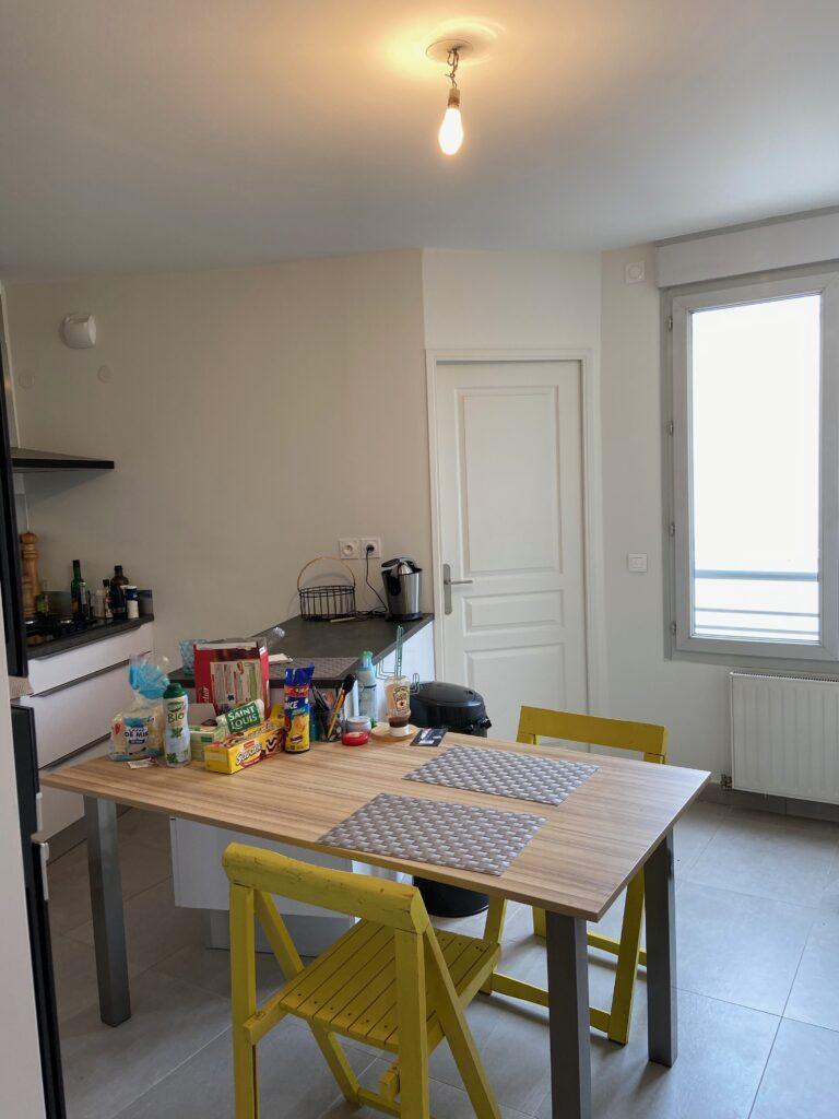 Cuisine appartement lyon décoration